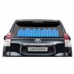 Синий автоэквалайзер 90×25 см
