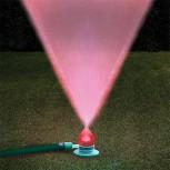 Газонный разбрызгиватель со светодиодом