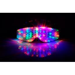 Клубные светящиеся очки