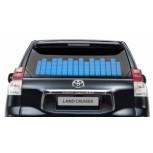 Синий автоэквалайзер 70×16 см