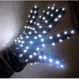 Светящиеся клубные перчатки
