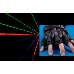 Светящиеся лазерные перчатки