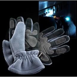 Зимние перчатки с подсветкой