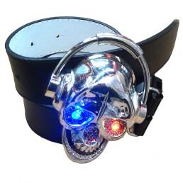 LED пряжка Череп