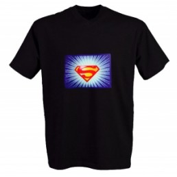 Футболка с эквалайзером Superman