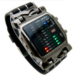 LED часы Iron Samurai New