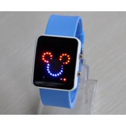 LED часы Микки-Маус